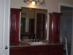 Custom Bathroom Cabinets Finished