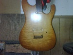 Custom Honeyburst Finish 4